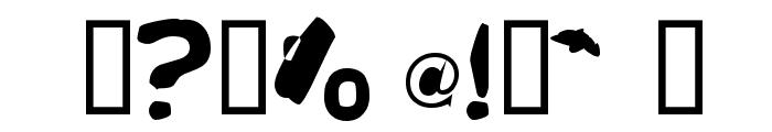 Runkspad Font OTHER CHARS