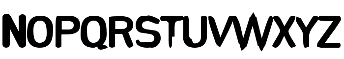 Runkspad Font UPPERCASE