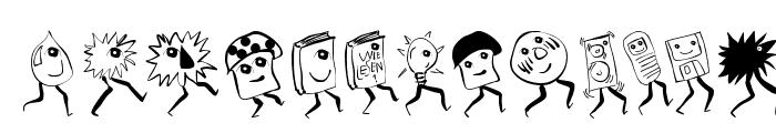 RunningGnomes Font UPPERCASE