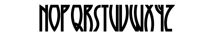 RunyTunesRevisited Font LOWERCASE