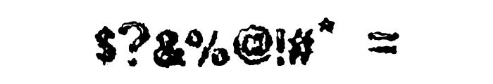 RuohomattoSans Font OTHER CHARS