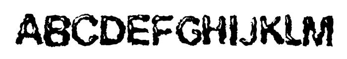 RuohomattoSans Font UPPERCASE