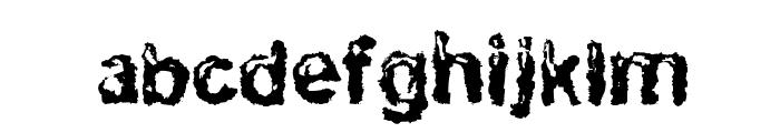 RuohomattoSans Font LOWERCASE