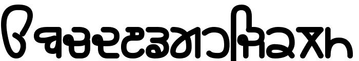 Rupe Black Font LOWERCASE
