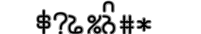 Rupe Border Black Font OTHER CHARS