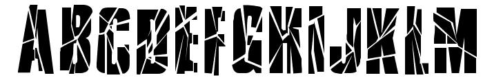 RupturedSans Font UPPERCASE