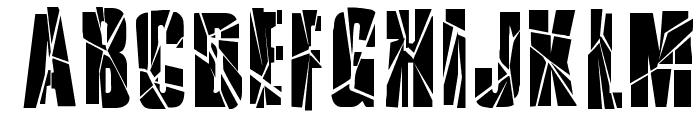RupturedSans Font LOWERCASE