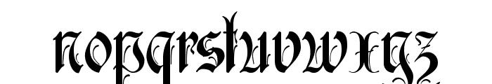 Ruritania Font LOWERCASE