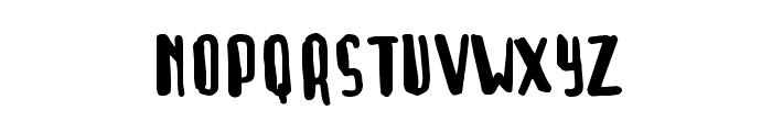 Rush Job Normal Font UPPERCASE