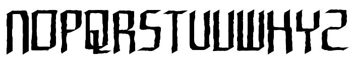 Rushil Test Font UPPERCASE
