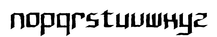 Rushil Test Font LOWERCASE