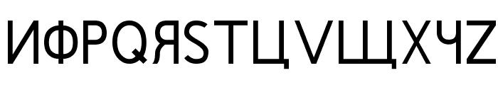 Rushin Regular Font UPPERCASE