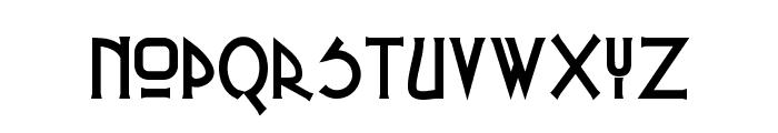 Russel Write TT Font LOWERCASE