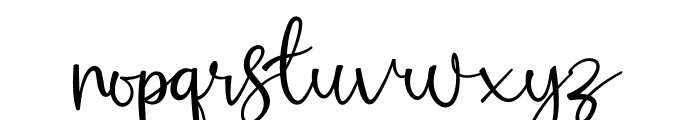Russhell Free Font LOWERCASE