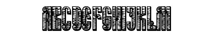 Russian Land Old  Regular Font UPPERCASE