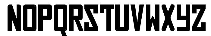Russian Font UPPERCASE
