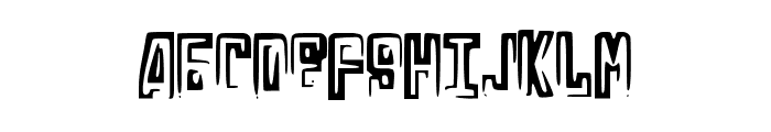 RussianLine Font UPPERCASE