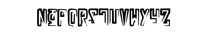 RussianLine Font LOWERCASE