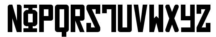Russian Font LOWERCASE