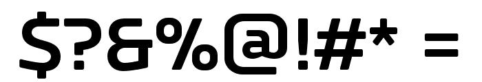 RussoSansBold Font OTHER CHARS