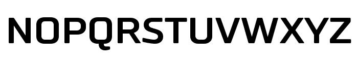 RussoSansBold Font UPPERCASE