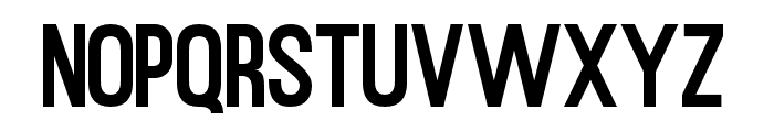 RustedOrlandoSansDemo Font LOWERCASE