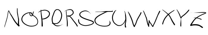 RustiCalligraphia Font UPPERCASE