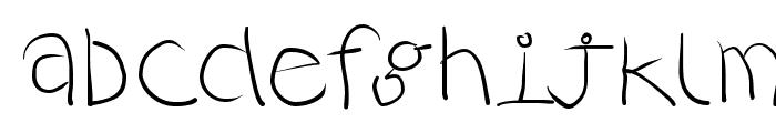 RustiCalligraphia Font LOWERCASE
