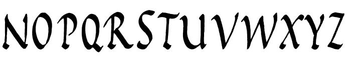 Rustic Capitals Font UPPERCASE