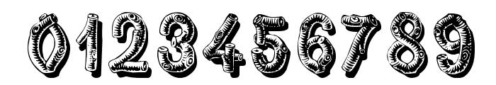 RusticBlackShadow Font OTHER CHARS