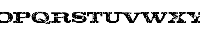 Rustik-Regular Font LOWERCASE