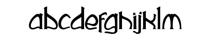 Rustika Font LOWERCASE