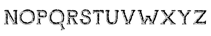 Rustswordsblack Font UPPERCASE