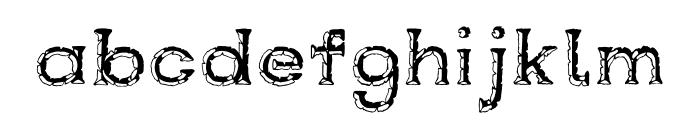 Rustswordsblack Font LOWERCASE
