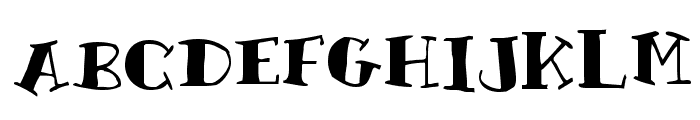 Rutherford Font UPPERCASE