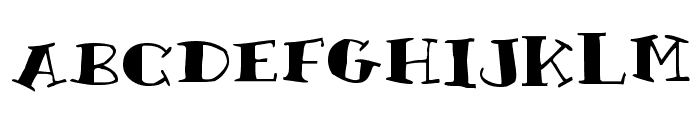 Rutherford Font LOWERCASE