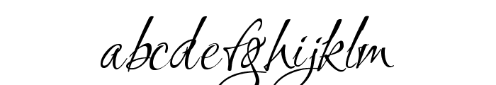 Ruthie Font LOWERCASE