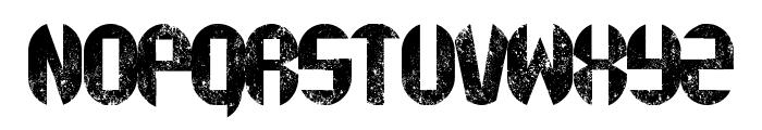 rustyfatty Font UPPERCASE