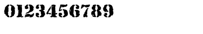 Rubber Stamp Regular Font OTHER CHARS