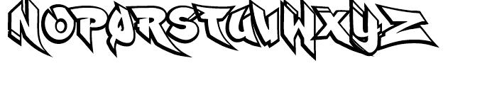 Ruckus Font UPPERCASE