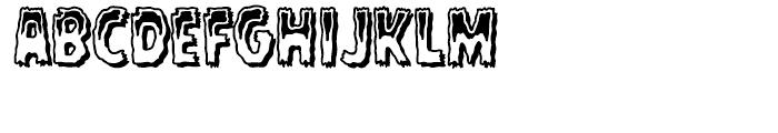 Rugged Rock Outline Intl Font UPPERCASE