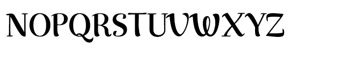 Rumba Extra Font UPPERCASE