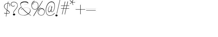 Runaround Sue NF Regular Font OTHER CHARS