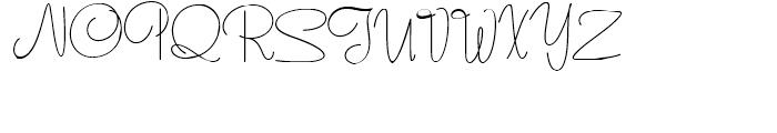 Runaround Sue NF Regular Font UPPERCASE