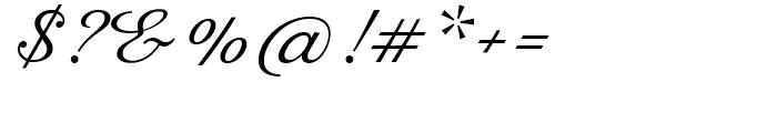 Rusulica Script Regular Font OTHER CHARS