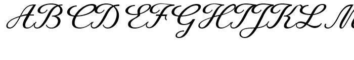 Rusulica Script Regular Font UPPERCASE
