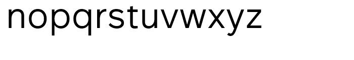 Rutan Regular Font LOWERCASE