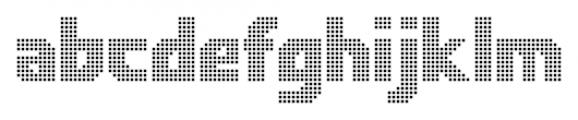 Rukyltronic Network Font LOWERCASE