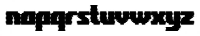Rukyltronic Screen Font LOWERCASE