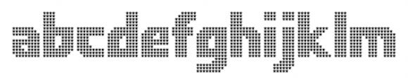 Rukyltronic Star Font LOWERCASE